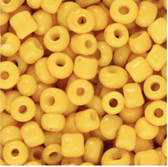 Rocailles 4mm Warm yellow
