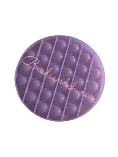 Pop - it circle pastel purple