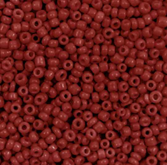 Rocailles 2mm Cabernet Red