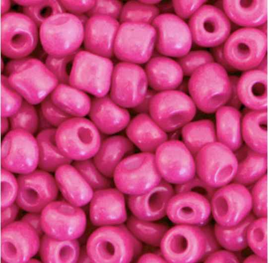 Rocailles Neon pink 4mm