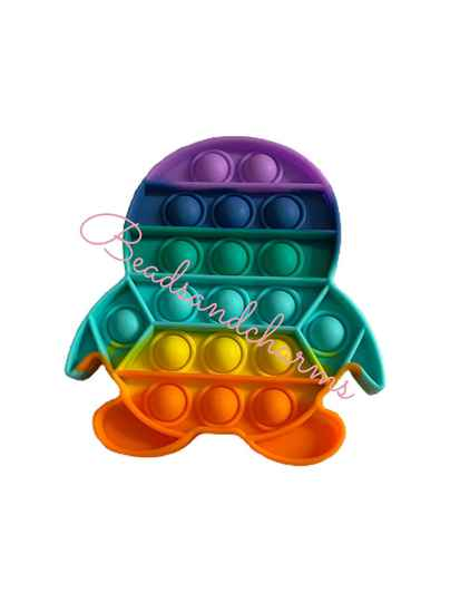Pop - it rainbow pinguin