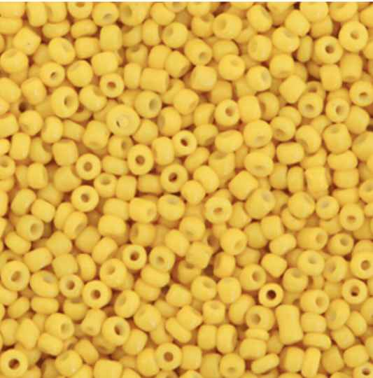Rocailles 2mm Spectra yellow