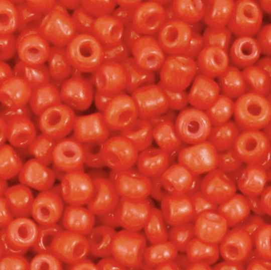 Rocailles 3mm fiery Red