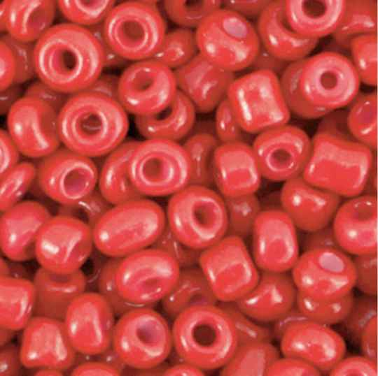 Rocailles 4mm Amarant Red