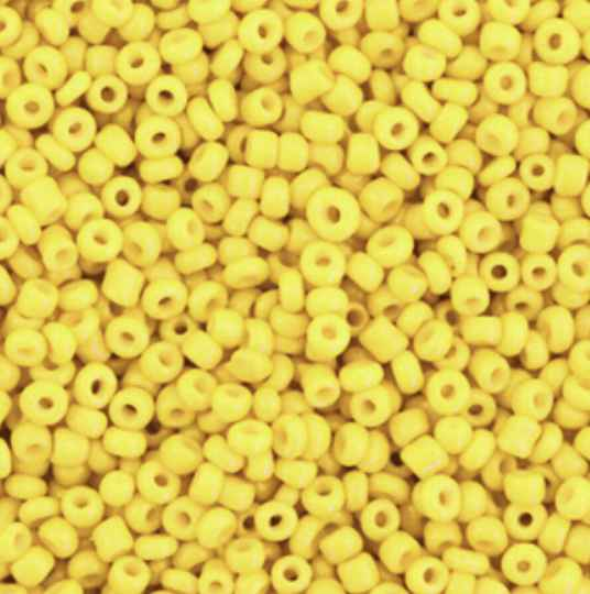 Rocailles 2mm Cyber Yellow
