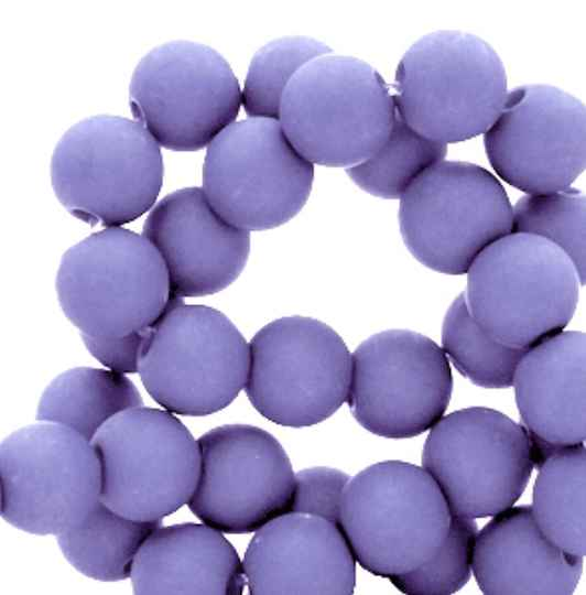 4mm Acrylkralen ultra violet purple