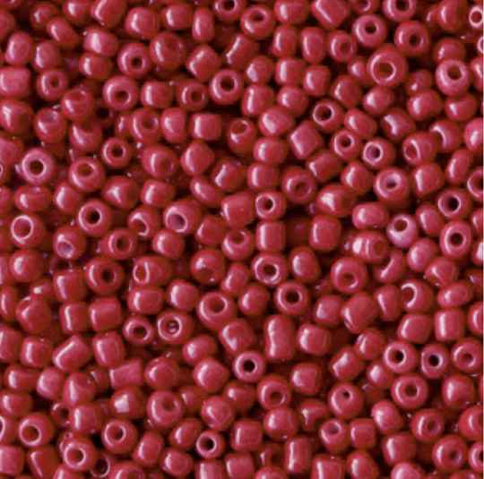 Rocailles 2mm Cherry Red