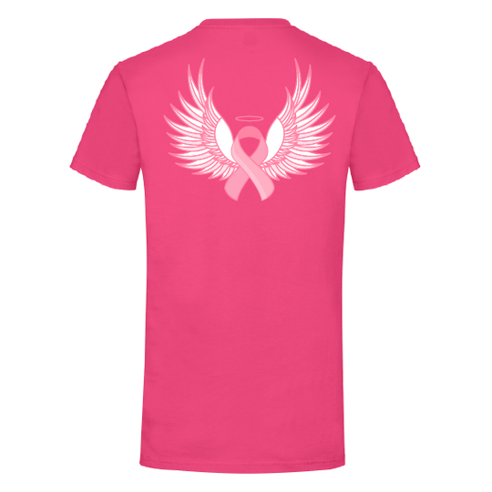 Pink Ribbon t-shirts | Angel