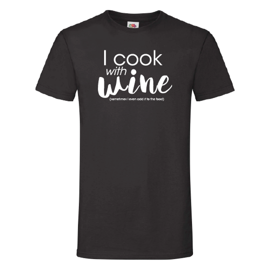Wijn t-shirts | I cook with wine