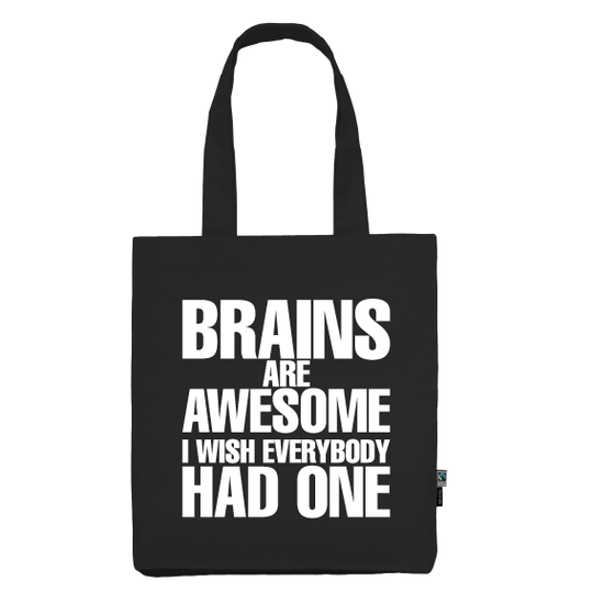 Totebag | Brains are awesome
