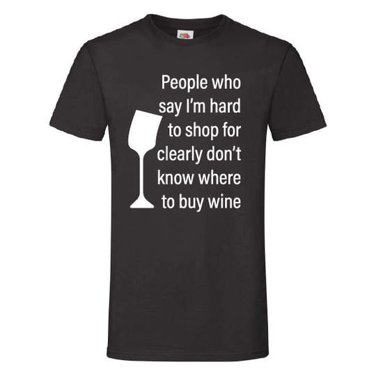 Wijn t-shirts | Hard to shop for