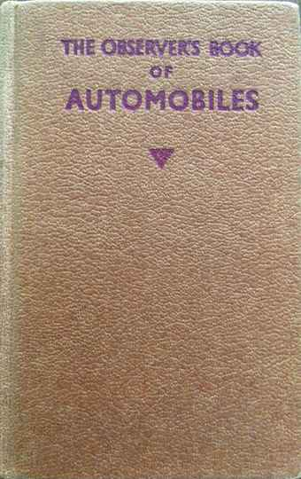 The Observers Book of automobiles 1959 - Richard T. Parsons