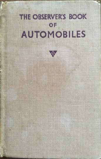 The Observers Book of automobiles 1955 - Richard T. Parsons