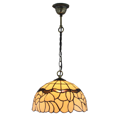 PL120004 12 inch Tiffany Style Pendant Lamp with chain hanging lamp 30 x 25 cm