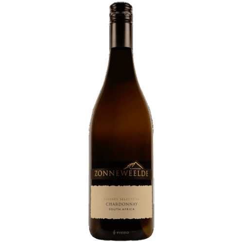 "Zonneweelde ""Private Selection"" Chardonnay 2018 75 cl."