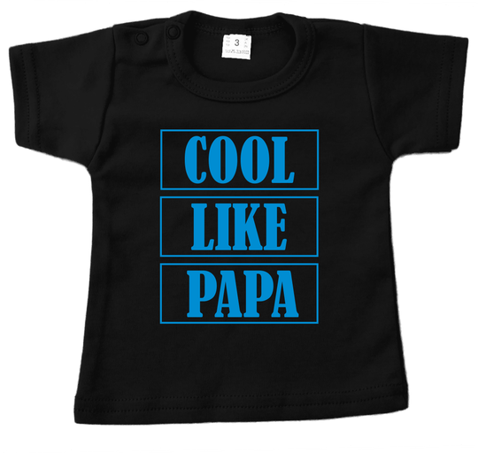 Shirt korte mouw COOL LIKE PAPA