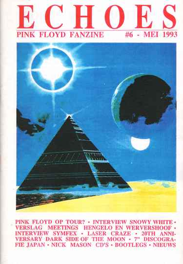 Pink Floyd - Echoes 6, May 1993 [Holland] - Magazine