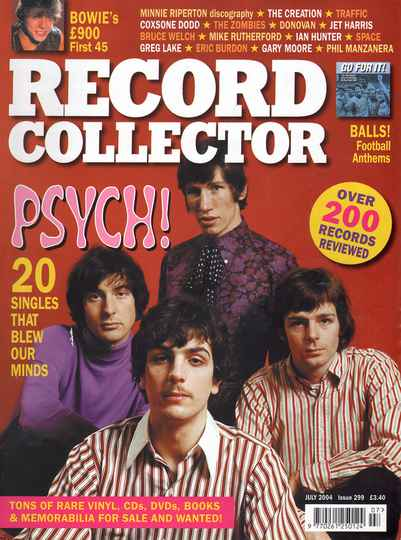 Pink Floyd - Record Collector 299, July 2004 [UK] - Magazine