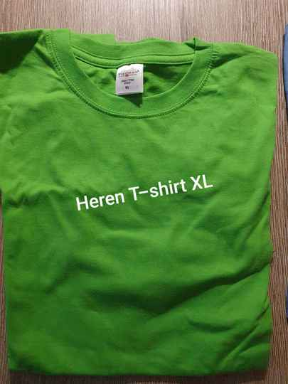 OPRUIMING HEREN SHIRT XL