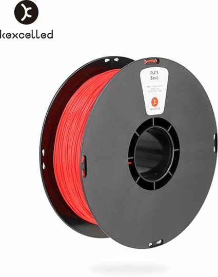 Kexcelled PLA K5 - Rood - 1 kg spool 1,75mm