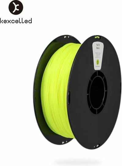 Kexcelled PLA K5 - Fluorescent Yellow - 1,75mm