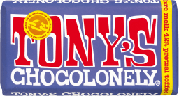 Tony's Chocolonely melk pretzel toffee