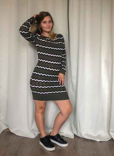 Zigzag Moussa Dress