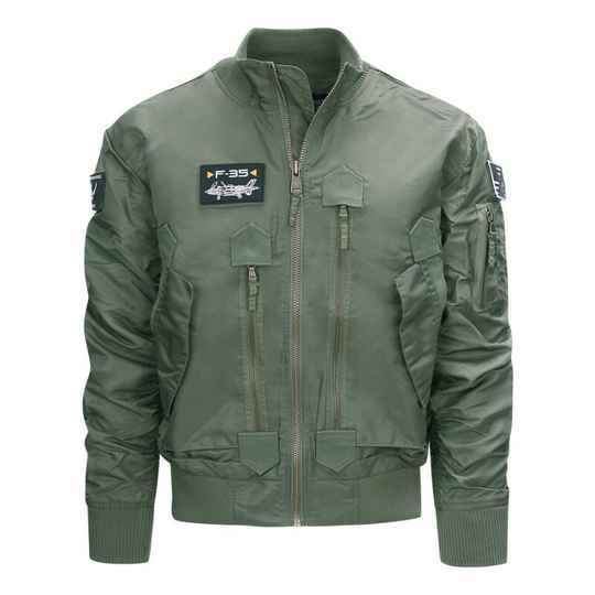 F-35 FLIGHT JACKET Groen