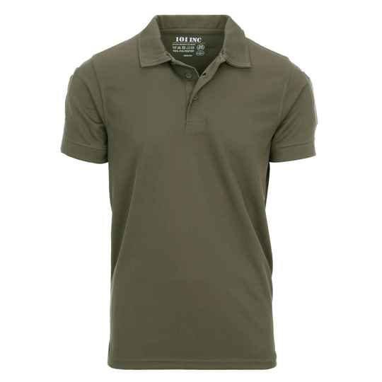 TACTICAL POLO QUICK DRY Groen / Coyote / Zwart / Wolf grey