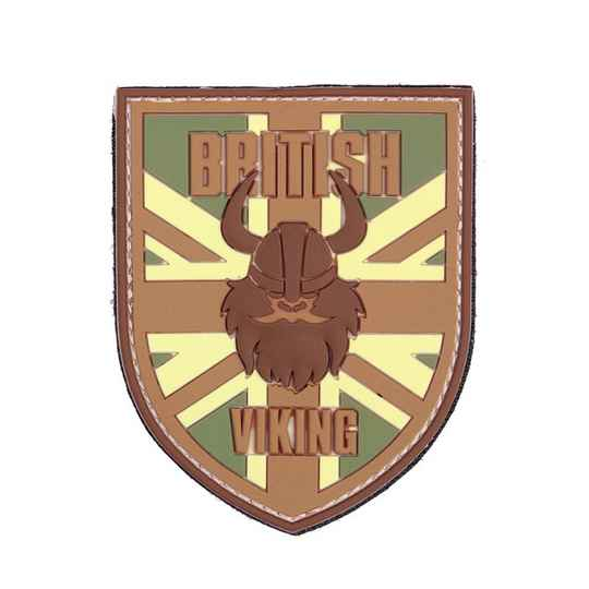 EMBLEEM 3D PVC BRITISH VIKING Multi