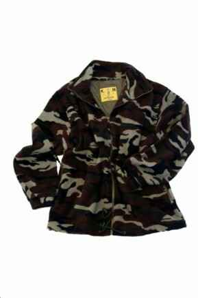 KM CAMOUFLAGE FLEECE VEST