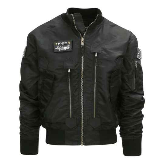 F-35 FLIGHT JACKET Zwart