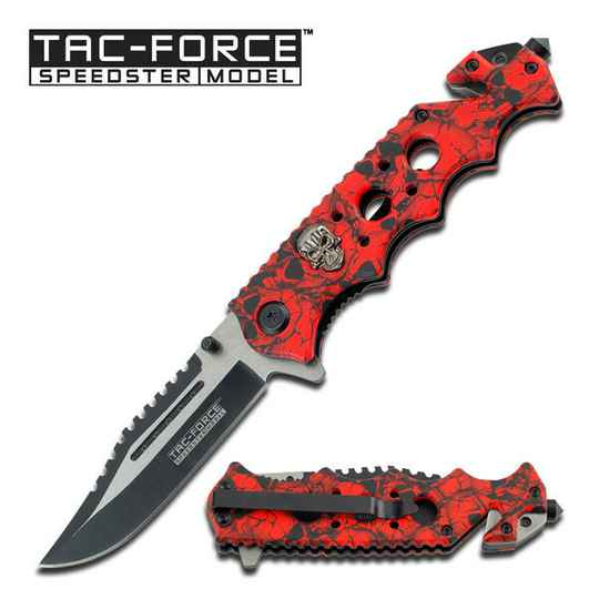TAC FORCE RED SKULL