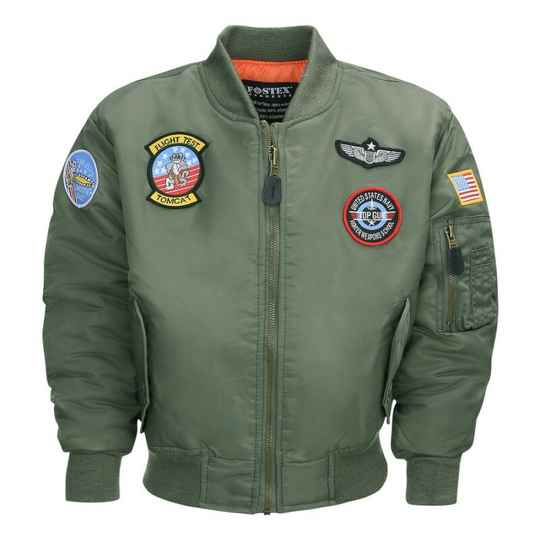 KINDER MA-1 FLIGHT JACKET