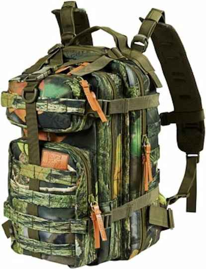 MacGyver Tactical Backpack | Outdoor / Militaire Rugzak | Lichtgewicht | 26 Liter | Camouflage