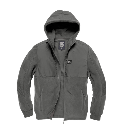 LANDELL POLAR FLEECE JACKET STONE
