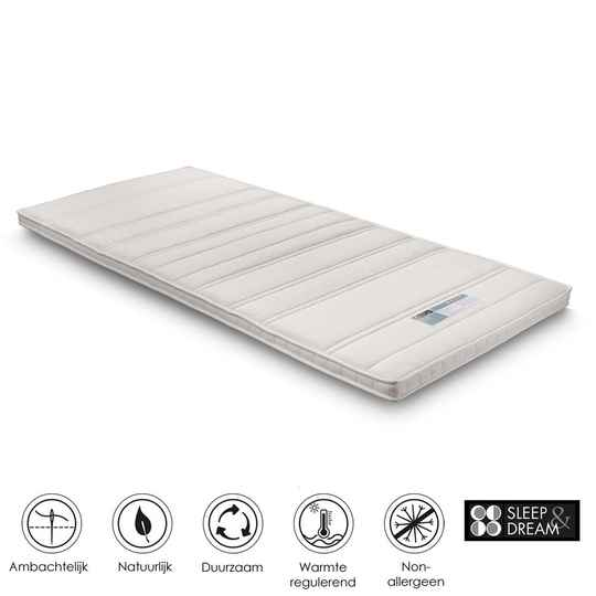 Sleep & Dream topdekmatras Saffier