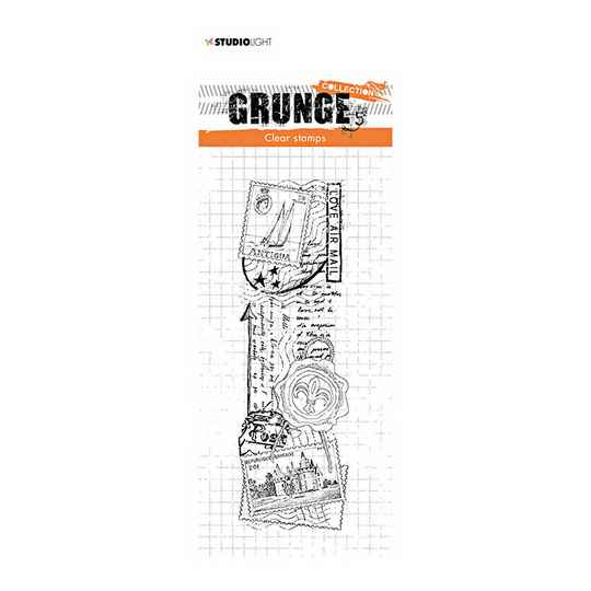 Studio Light - Clear stamp - Grunge Collection - nr.36