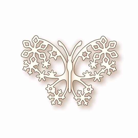 Wild Rose Studios - Specialty die - Winter Butterfly