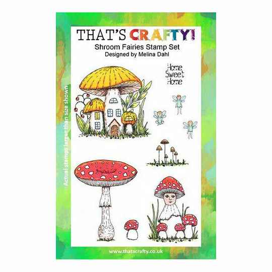 That's Crafty! - Clear Stamp Set - Shroom Fairies