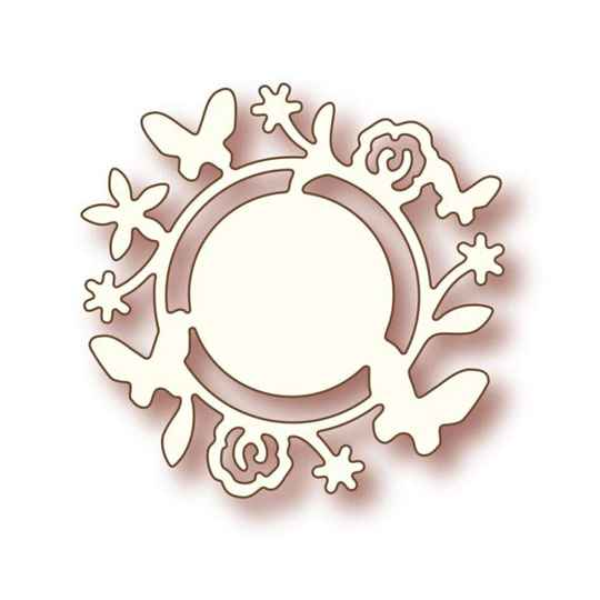 Wild Rose Studios - Specialty die - Flower circle
