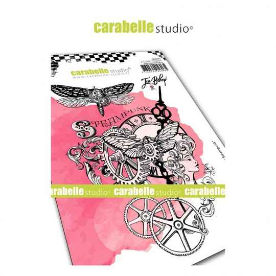 Carabelle Studio - A6 Stamp - Chroniques Steampunk