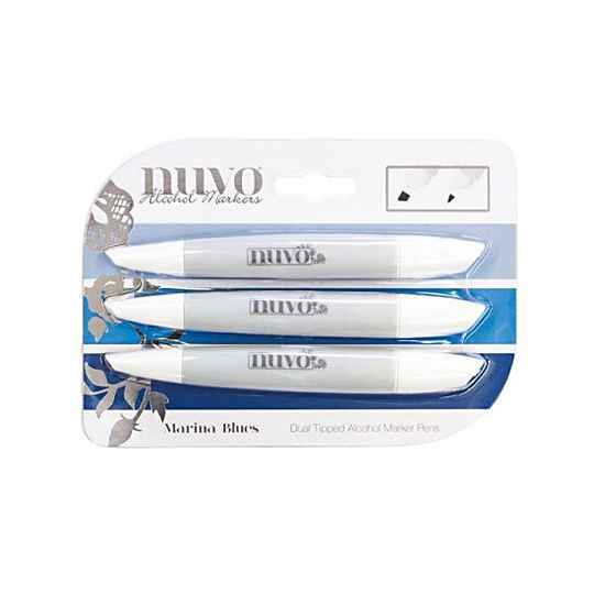 Nuvo - Marker Pen Collection - Marina Blues