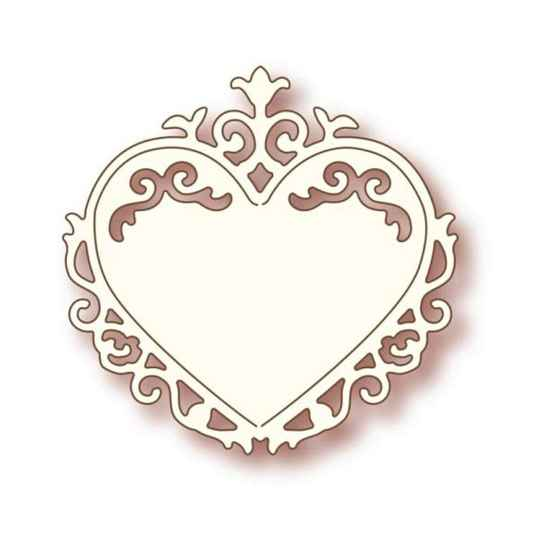 Wild Rose Studios - Specialty die - Ornate Heart