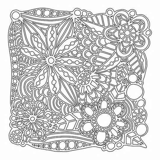 That's Crafty! - Mask stencil - Flowers Galore