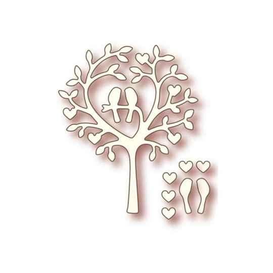 Wild Rose Studios - Specialty die - Love Bird Tree