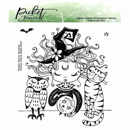 Picket Fence Studios - Hocus Pocus Dear - Clear Stamps