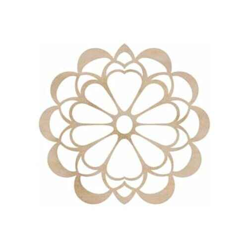 Kaisercraft - Wood Flourish - Flower Large