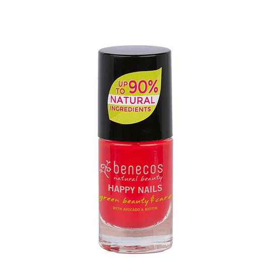 Benecos Vegan Nail Polish Hot Summer