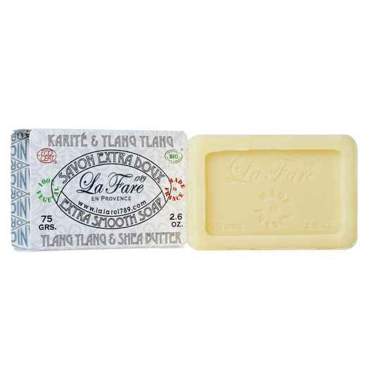 la fare 1789 Soap extra smooth shea butter ylang ylang 75g